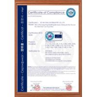 FENGYU INDUSTRY CO.,LTD Certifications