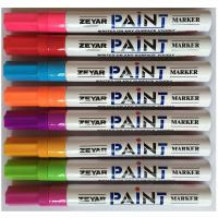 Wholesale 8 colors High quality Japanese tip UK ink Aluminum barrel paint marker from china suppliers