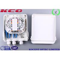 Wholesale KCO-FDB-8C Outdoor Waterproof 8 Cores Fiber Optic Splitter Box ABS + PC FTTH FTTB from china suppliers