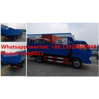 Wholesale HOT SALE!dongfeng 4*2 LHD 4tons dump garbage truck, Factory sale best price dump garbage truck with hydraulic cover from china suppliers