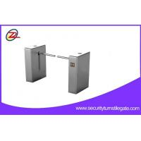 Wholesale Pedestrian access control LED Drop Arm Barrier security Electronic Turnstile from china suppliers
