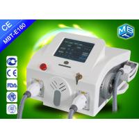 Wholesale OPT Elight ipl portable machine , 2 handles big power ipl frequency for hair removal from china suppliers