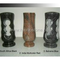Wholesale Granite ,marble stone vases &lamps HBV-505-a from china suppliers