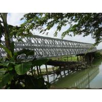 Wholesale Bailey Prefabricated Delta Bridge Simple structure For Military  from china suppliers