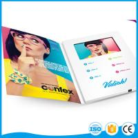 4.3 Inch Tft Lcd Screen Video Mailer Card / Video In Print Brochure For Office Or Hotel