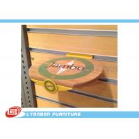 Wholesale Engraved Logo Round MDF Wood Display Accessory Customized , SGS ISO from china suppliers