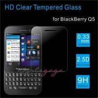 Wholesale Clear 2.5D 3 layer Blackberry Screen Protector 9H protective glass film from china suppliers