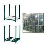 Wholesale Industrial Portable Storage Rack Warehouse Metal Stack Pallet from china suppliers