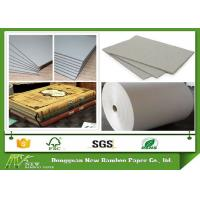 Wholesale 650GSM Grey Board Paper Grey Chip Board For Book Cover Material Anti - Curl from china suppliers