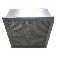 Wholesale Disposable Hospital Hepa Room Air Filters , Pharmacy Deep Pleat Hepa Filter from china suppliers