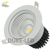 Wholesale 5.5inch Diameter 25 Watts CREE COB LED Downlights Kits AC 85 - 265V LED Recessed Ceiling Light Fixtures from china suppliers