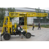 Wholesale Hydraulic water well drilling rigs , exploration water drill rig east to move from china suppliers