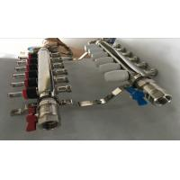 Wholesale Stainless Steel 304 Or 201 Underfloor Heating Manifold On Sliver Color from china suppliers