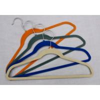 Wholesale Flocked Velvet Hanger Black/ Clothes Hanger/ Cloth Hanger from china suppliers