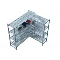 Wholesale Durable Heavy Duty Plastic Shelving Vented / Slotted Angle Shelving Rust - Proof from china suppliers