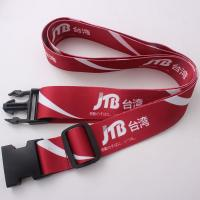 Wholesale Custom logo printing luggage bag belt from china suppliers