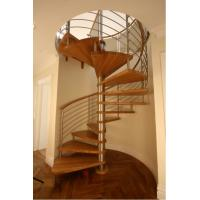 Wholesale Modern spiral staircase for indoor usage from china suppliers