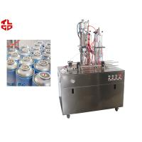 Wholesale Automatic Fresh Air Can Filling Machine , Aerosol Filling Machine With PLC Control System from china suppliers
