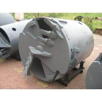 Wholesale Drilling Rig Components , Rotary Drilling Augers Double Cut Flat Drilling Bucket And Auger Attachment from china suppliers