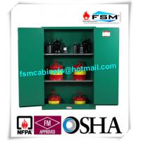 Wholesale Fireproof 45 Gallon Hazardous Storage Cabinets Adjustable Shelf For Storing Dangerous Goods from china suppliers