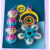 Wholesale plastic bird toy set for added funs suitable for budgies from china suppliers
