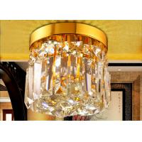 Wholesale Mini Single Layer LED Crystal Ceiling Lights With Wall Switch from china suppliers