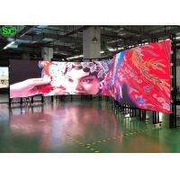 China P2.5 Flexible LED Screen RGB 3 In 1 160000/M² Pixel Density 2121 Lamp Size on sale