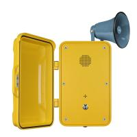 Wholesale Impact Resistant Industrial Weatherproof Telephone Equipped With Horn And Lamp from china suppliers