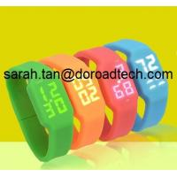 Wholesale Gift Silicone LED Watch USB Flash Drive, Fashion Silicone Bracelet USB Pendrive from china suppliers
