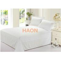 Wholesale Home Spa Hospital Hotel Bed Sheets In Dense Cotton Plain White Fabric from china suppliers