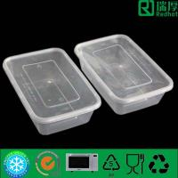 Food Industrial Use and Recyclable Feature High Quality Disposable Plastic Food Container With Lid 500ml