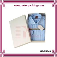 Buy cheap Men T-shirt packaging paper box/T Shirt Box with Hot Stamping Logo ME-TB048 from wholesalers