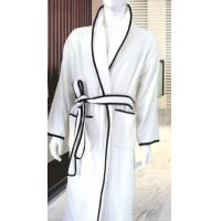 Wholesale Jacquard Cotton Luxury Hotel Bathrobes / Waffle Bathrobe For Men from china suppliers