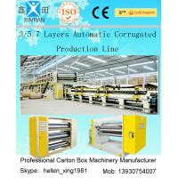 Wholesale CE Approval 5 Layer Corrugated Carton Making Machine For Making Corrugated Box from china suppliers