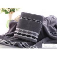 Wholesale Thickened Soft Touch Velour Custom Luxury Bath Towels OEM Design Natural Anti Bacterial from china suppliers