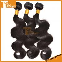 Buy cheap Cheap And Good Quality 100% Unprocessed Brazilian Virgin Human Hair Weaving from wholesalers