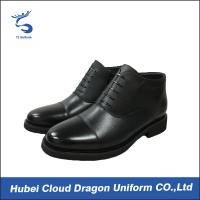 Wholesale Luxury Security Uniform Accessories Men Dress Comfortable Work Boots For Standing All Day from china suppliers