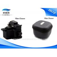 China Optical Fiber Cleaver Fiber Testing Tools For 250 To 900 Micron In Black on sale