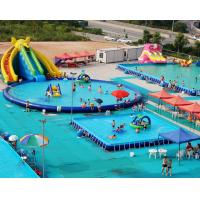Wholesale PVC Tarpaulin Inflatable Water Playground Giant Inflatable Aqua Park For Adult / Kids from china suppliers