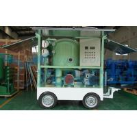Double Stage Portable Transformer Oil Purification Plant