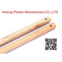 Wholesale Customized Varnish Wooden Broom Handles With Italian Thread Eucalyptus Wood from china suppliers