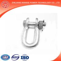 Buy cheap shackle US bolt anchor shackle marine D shackle from wholesalers
