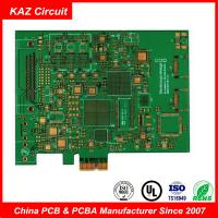 Quality 6 Layers Blind And Buried (1+4+1) Holes Fr4 Pcb Board For Telecommunication for sale