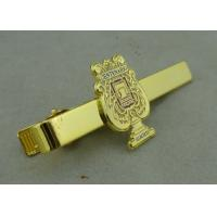 Wholesale Promotional Gold Mens Tie Bar Cufflink Brass Tack By Die Stamped from china suppliers
