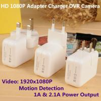 Wholesale 1080P Mini Adapter CCTV Surveillance DVR Spy Camera Motion Detection US/EU/UK Plug Charger from china suppliers