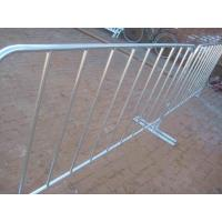 Wholesale Hot Dipped Galvanzed Pipe Weled Removable Bridge Feet Crowd Control Barriers from china suppliers
