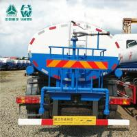 Quality Howo Sinotruk Mini Splash Water Tank Truck 12 - 14 Cbm 251 - 350hp Horsepower for sale