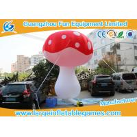 Wholesale Oxford Cloth Inflatable Mushroom Decoration Cartoon Characters For Event from china suppliers