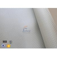 Wholesale Satin Weave 220gsm Silver Coated Fabric Fiberglass Cloth Thermal Insulation from china suppliers