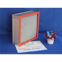 Wholesale High Temperature Resistants Hepa Panel Filter With 99.99% Fiber Glass Paper from china suppliers